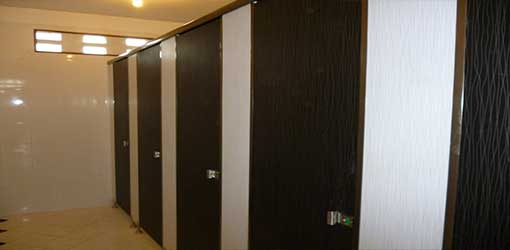 Partisi Phenolic Toilet